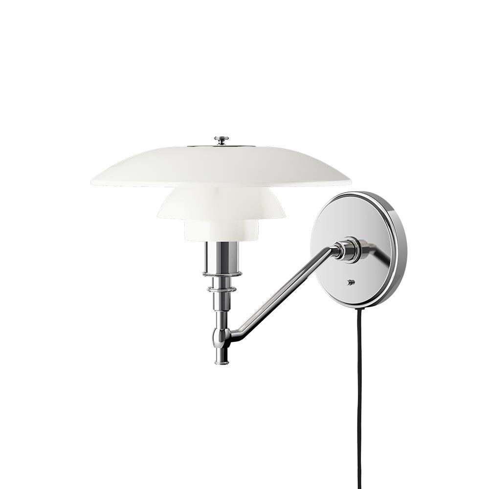 Louis Poulsen Wandlampe PH 3/2 Opalglas Weiß 2