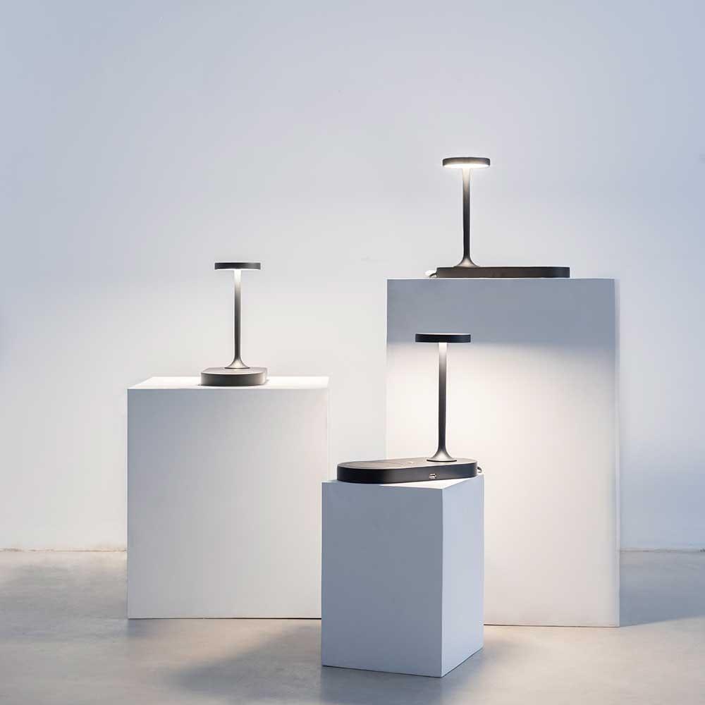 Mantra Ceres LED-Tischleuchte mit Induktionsladegerät 5