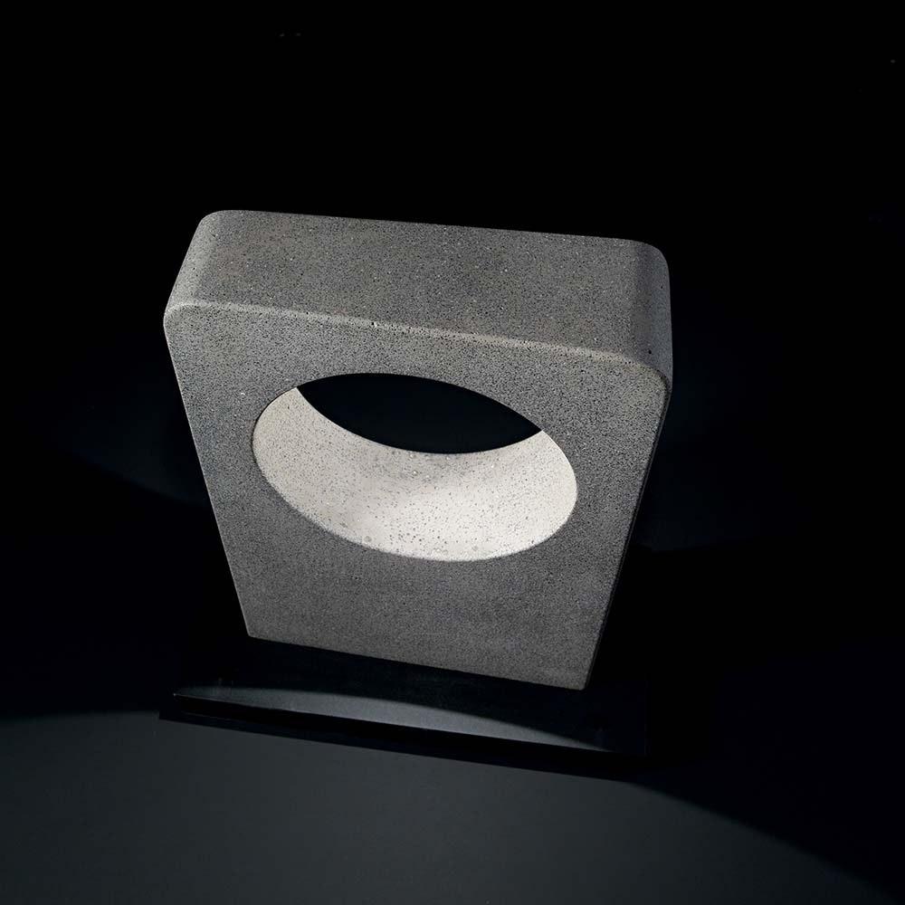 Ideal Lux LED Wegelampe Hole IP55 Granit, Schwarz 1