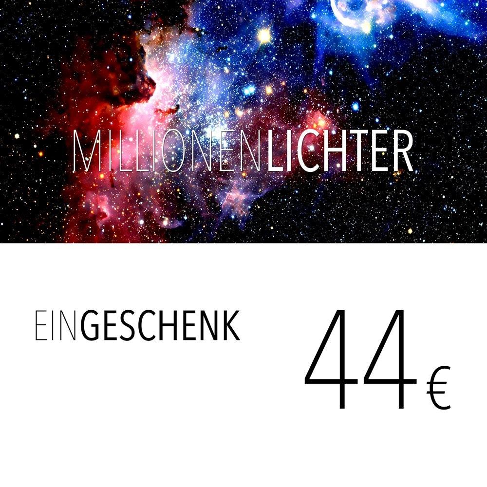 Einkaufsgutschein 44, - Euro