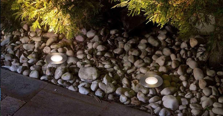 Suria Einbauleuchte Außenbereich Steingarten