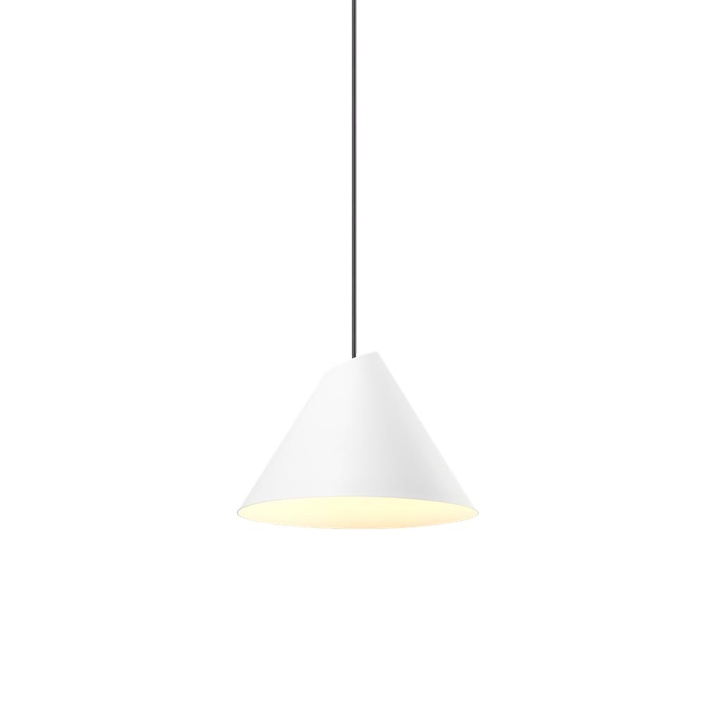 Wever & Ducre LED Pendellampe Shiek M Weiß 1