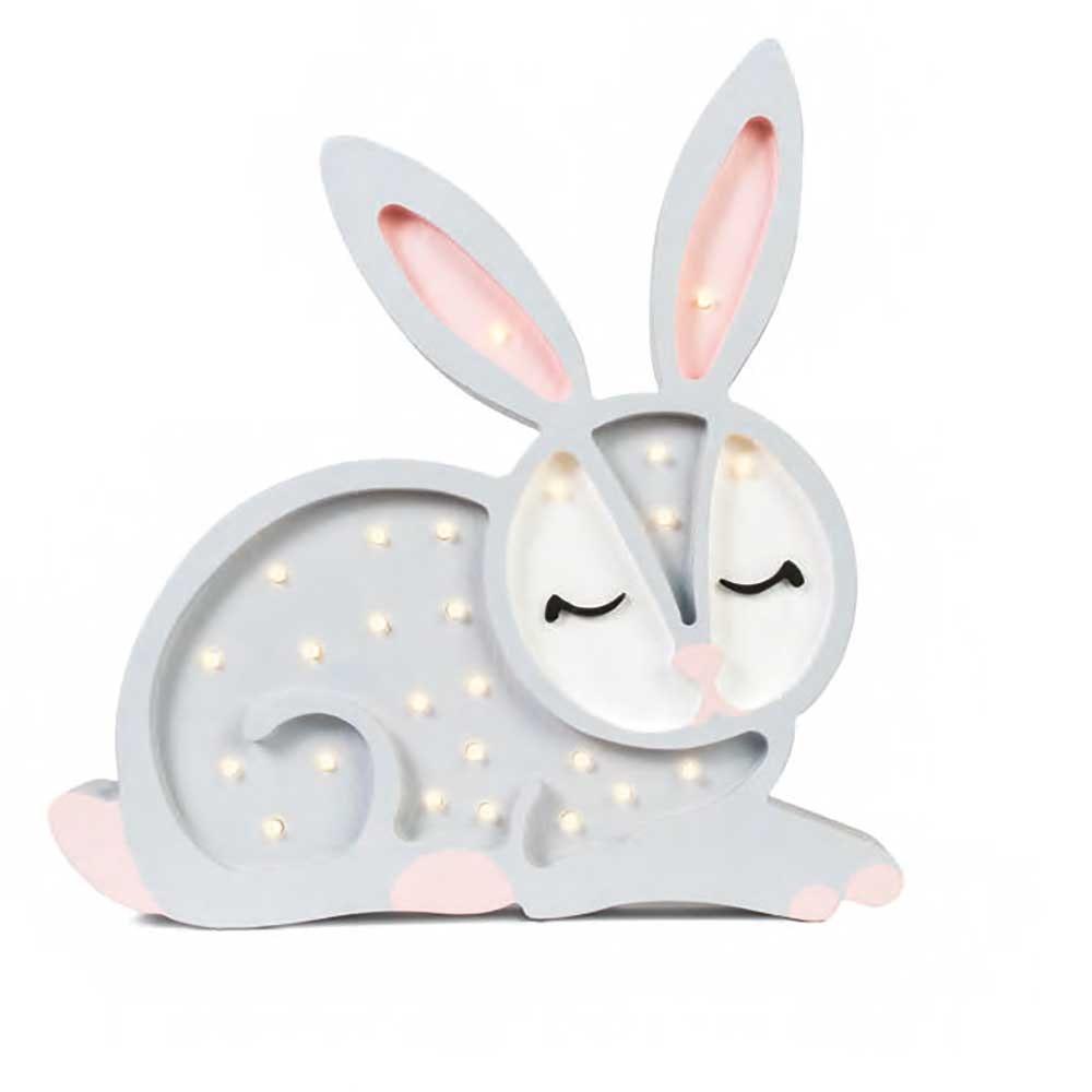 Little Lights Kinder Wand- & Tischleuchte Hase  4