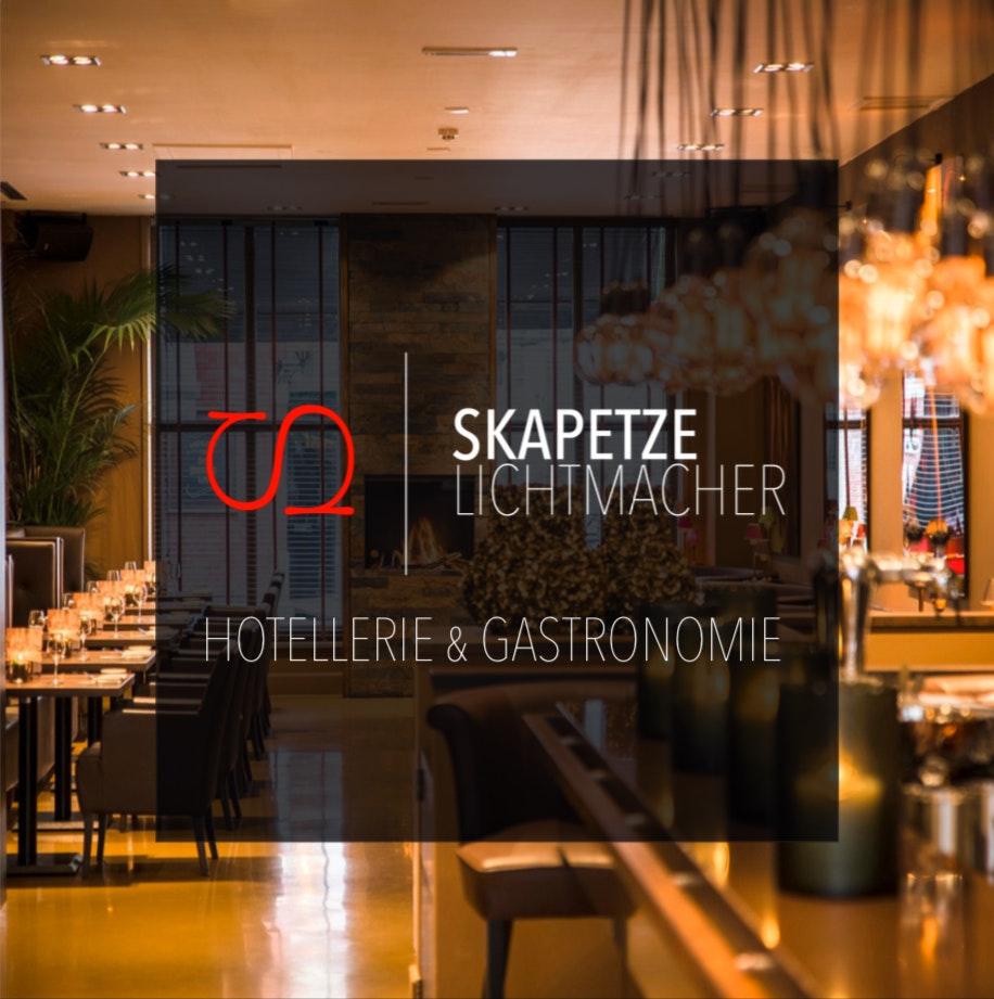 Skapetze Lichtplanungs-Broschüre für Hotellerie & Gastronomie