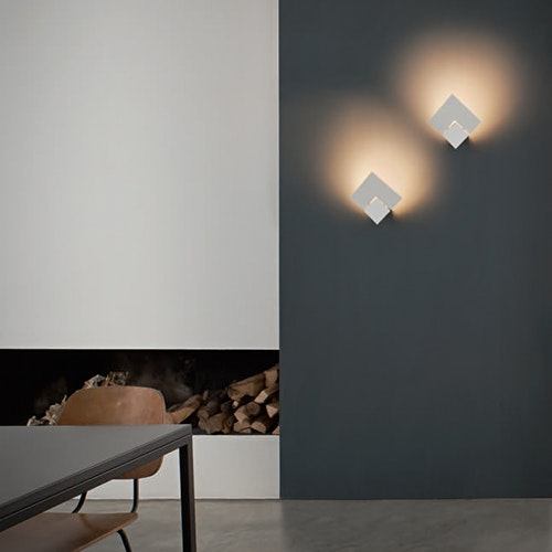 Studio Italia Design Puzzle Twist LED Wandlampe 2