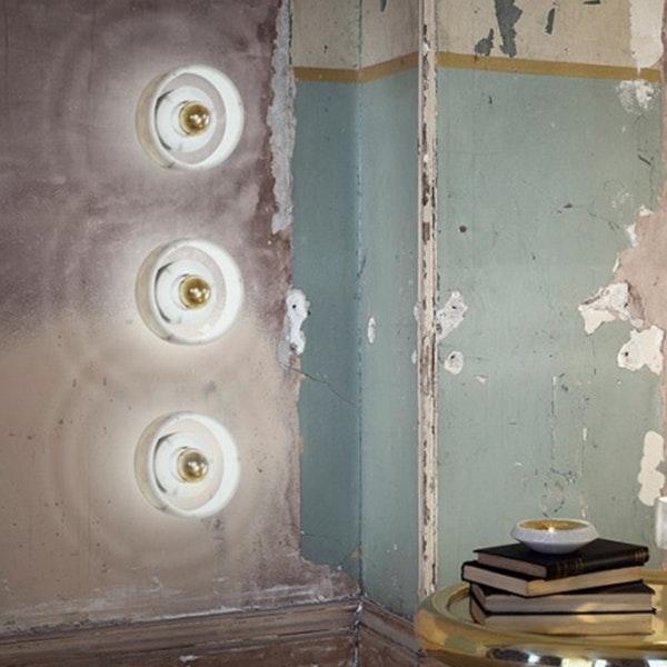 Tom Dixon Stone Wandlampe aus Marmor 2