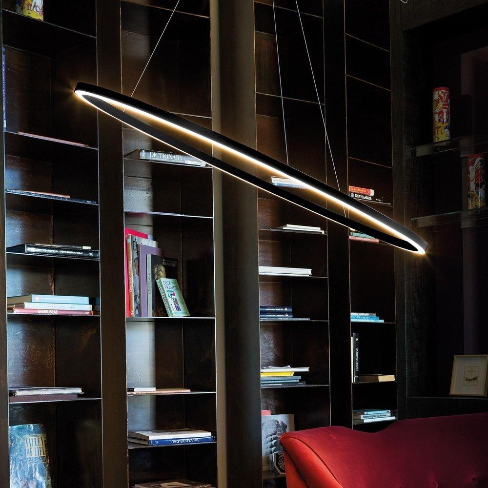 Nemo Ellisse Major Down LED Pendelleuchte 133x70cm direkt thumbnail 4