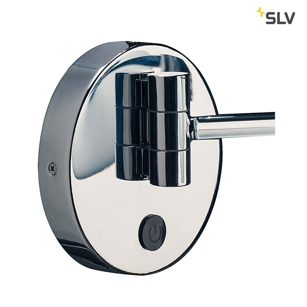 SLV Maganda LED Kosmetikspiegel Chrom IP44 7