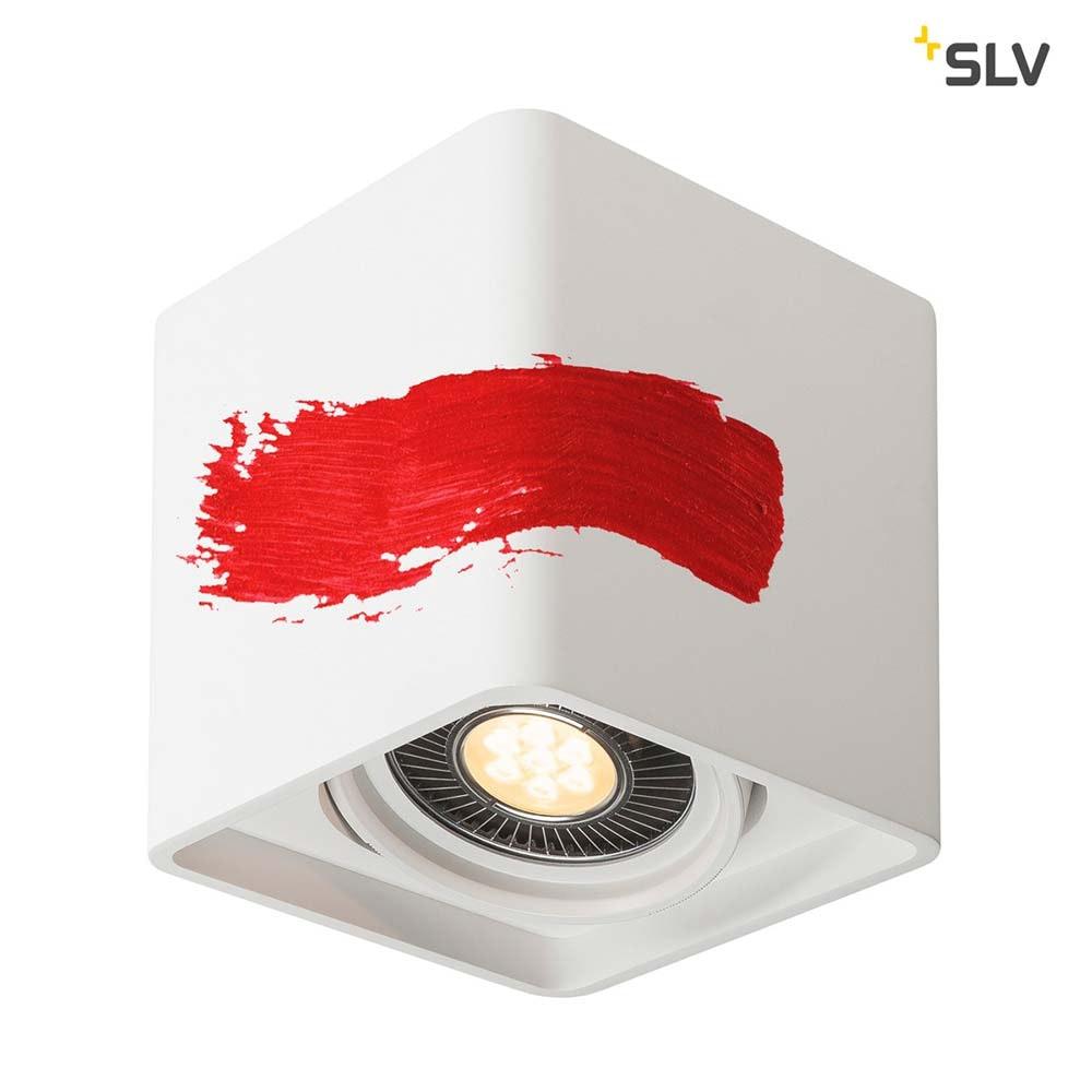 SLV Plastra Gips Deckenleuchte LED Eckig 3