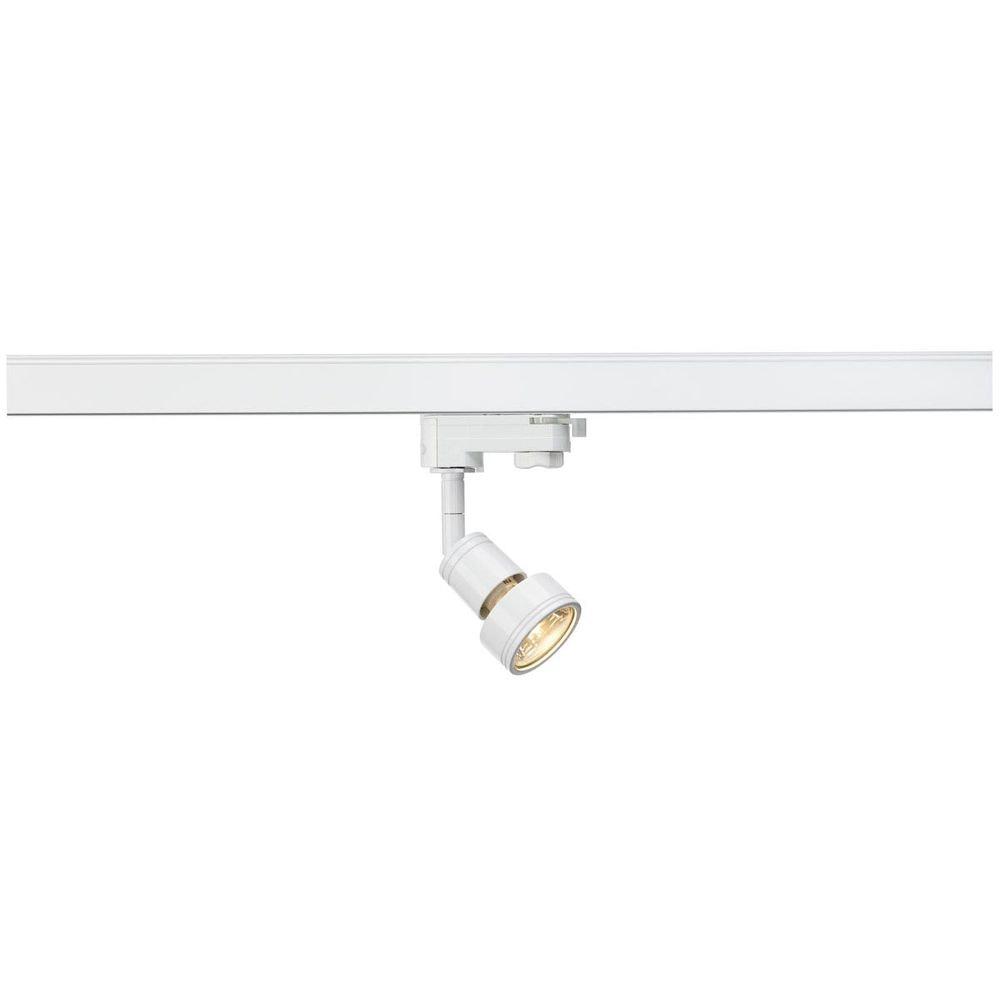 SLV PURI Lampenkopf Weiß GU10 max. 50W inkl. 3P.-Adapter 1
