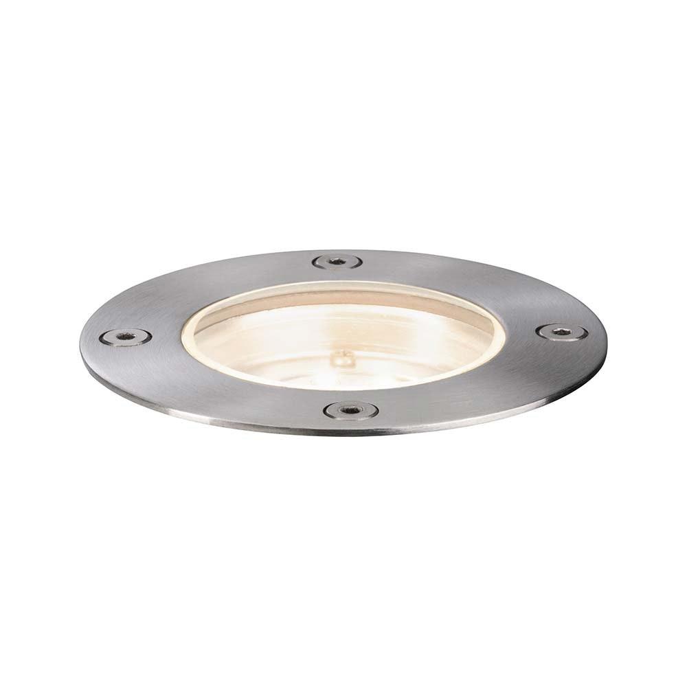 LED Plug & Shine Bodeneinbauleuchte rund IP65 3000K 2
