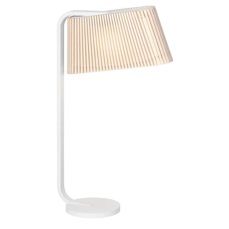 LED Tischleuchte Owalo 7020 aus Holz 50cm 8