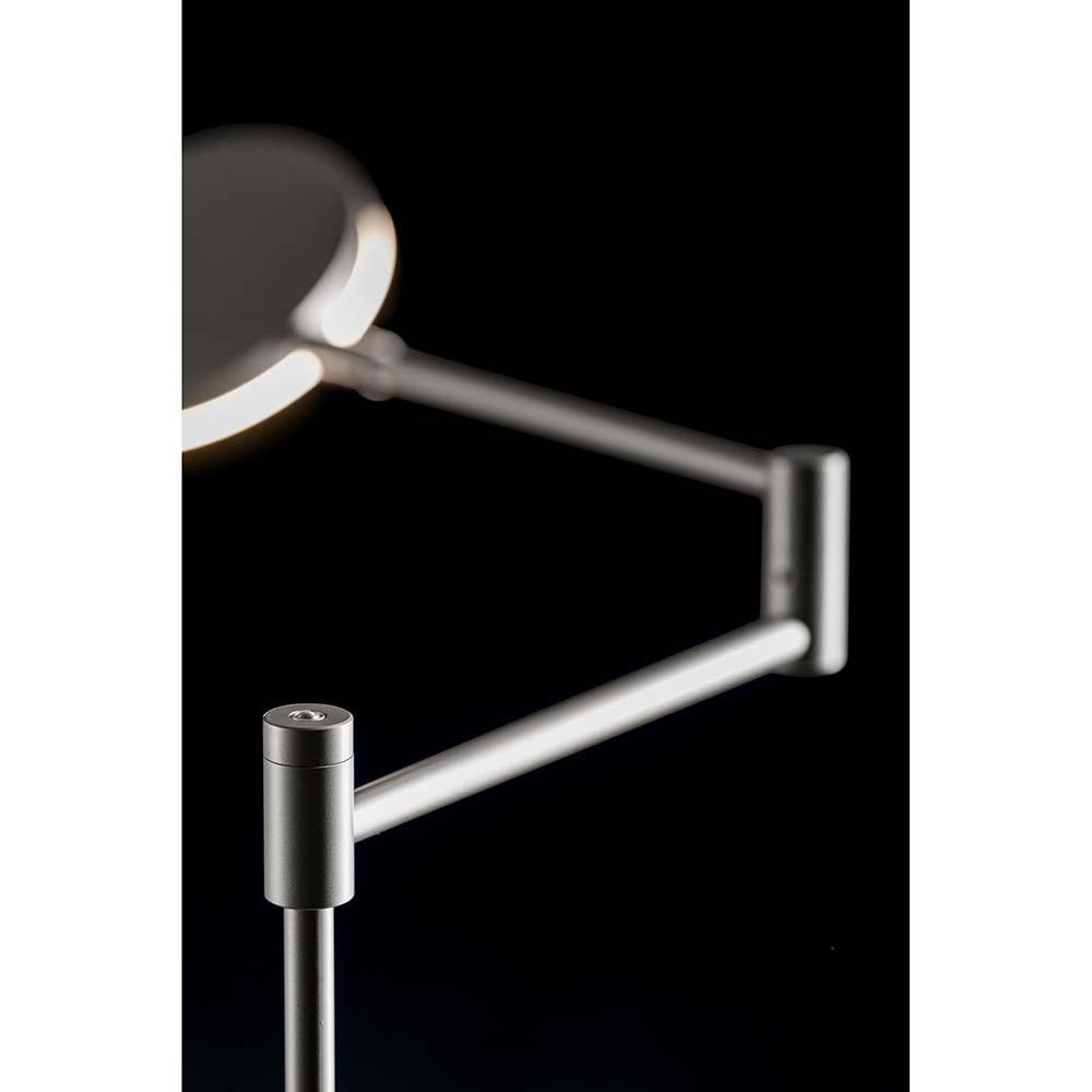 Plano B LED-Stehleuchte 140cm mit Tastdimmer 2000lm Platin thumbnail 3