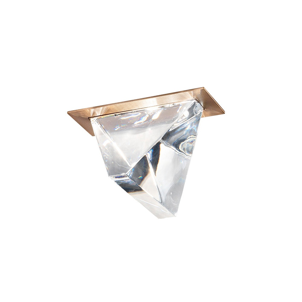 Fabbian Tripla LED-Einbauleuchte 2