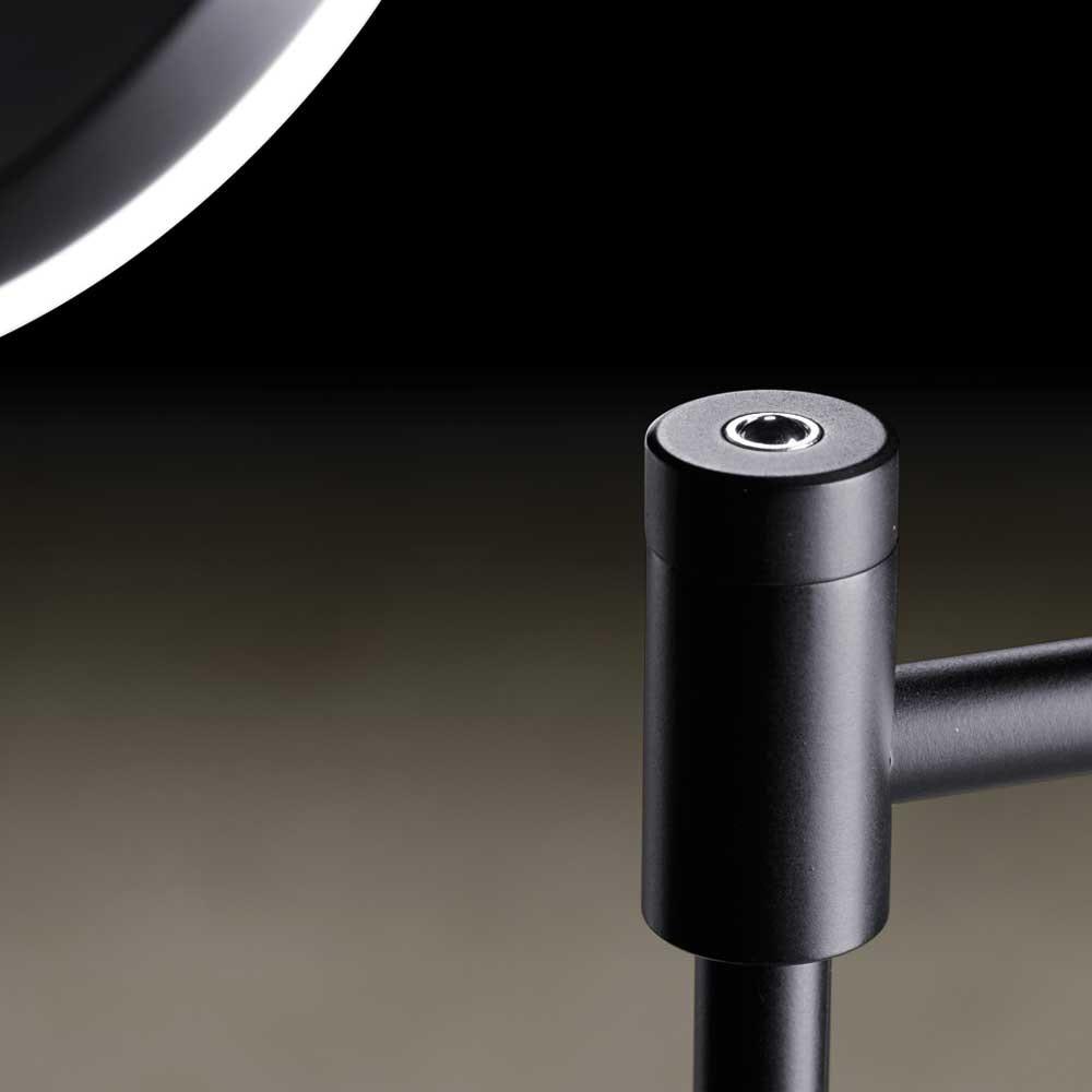 Holtkötter LED-Stehlampe Plano B mit Tastdimmer Schwarz 2