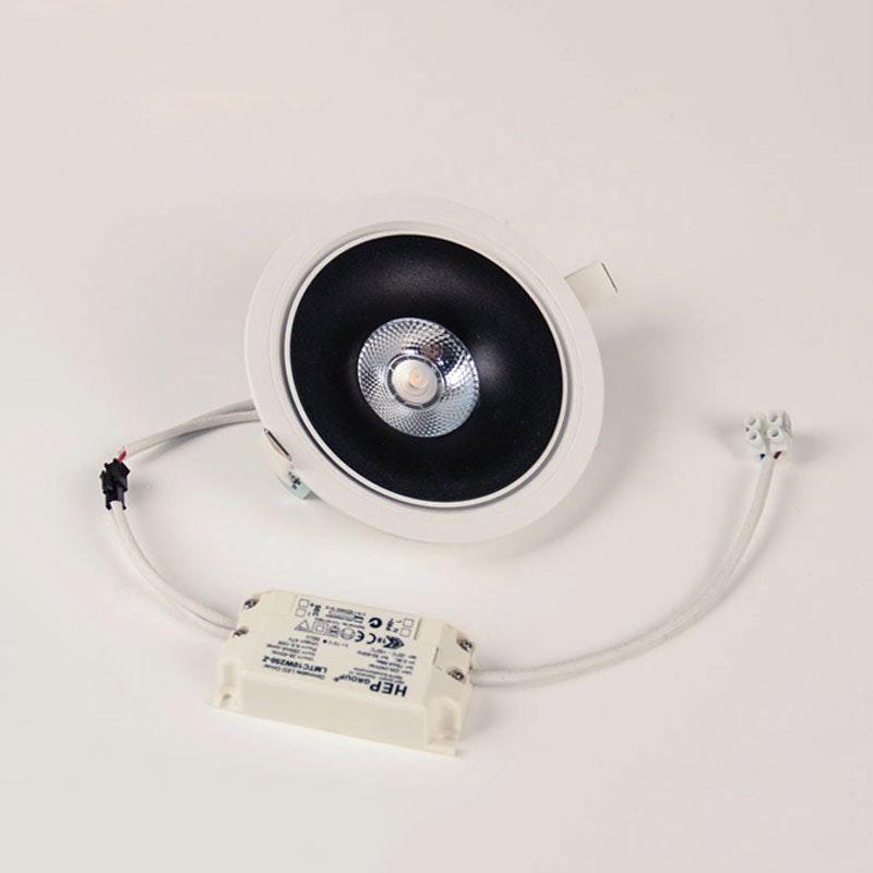 Santa LED Einbauspot schwenkbar & dimmbar 810lm Weiß, Schwarz 5