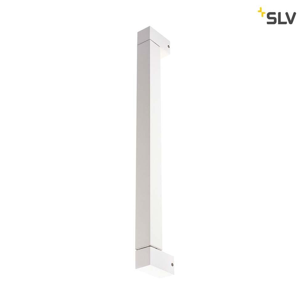 SLV Long Grill LED Wand- und Deckenleuchte Weiß 3000K 7
