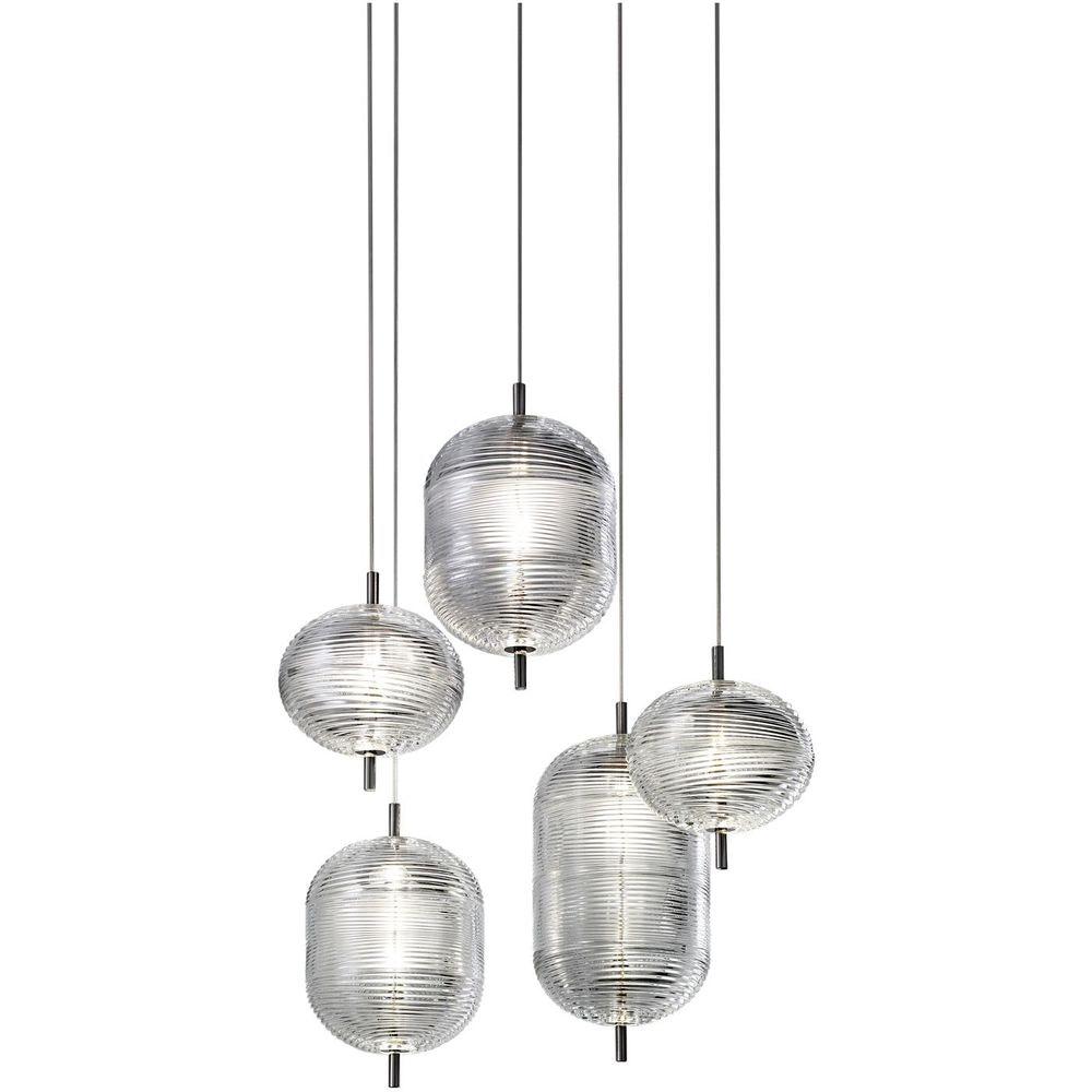 Studio Italia Design Jefferson LED Glas Hängelampe 2