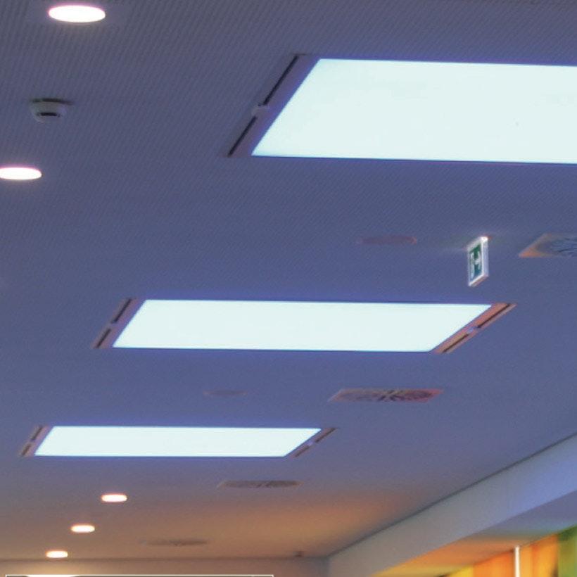 Kiteo K-Aera Flat Leuchte PI-LED ZigBee 3.0 59,5 x 59,5cm thumbnail 3