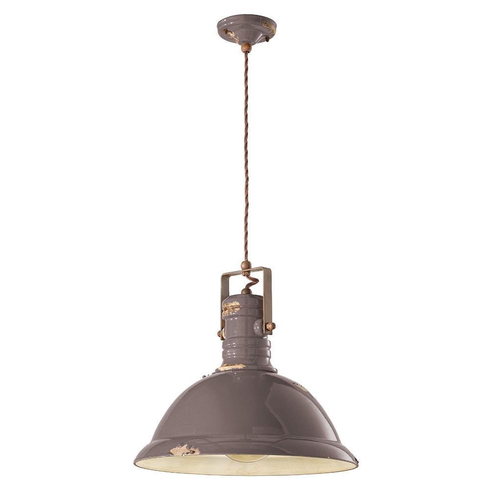 Ferroluce Industrial Hängelampe 40cm 3