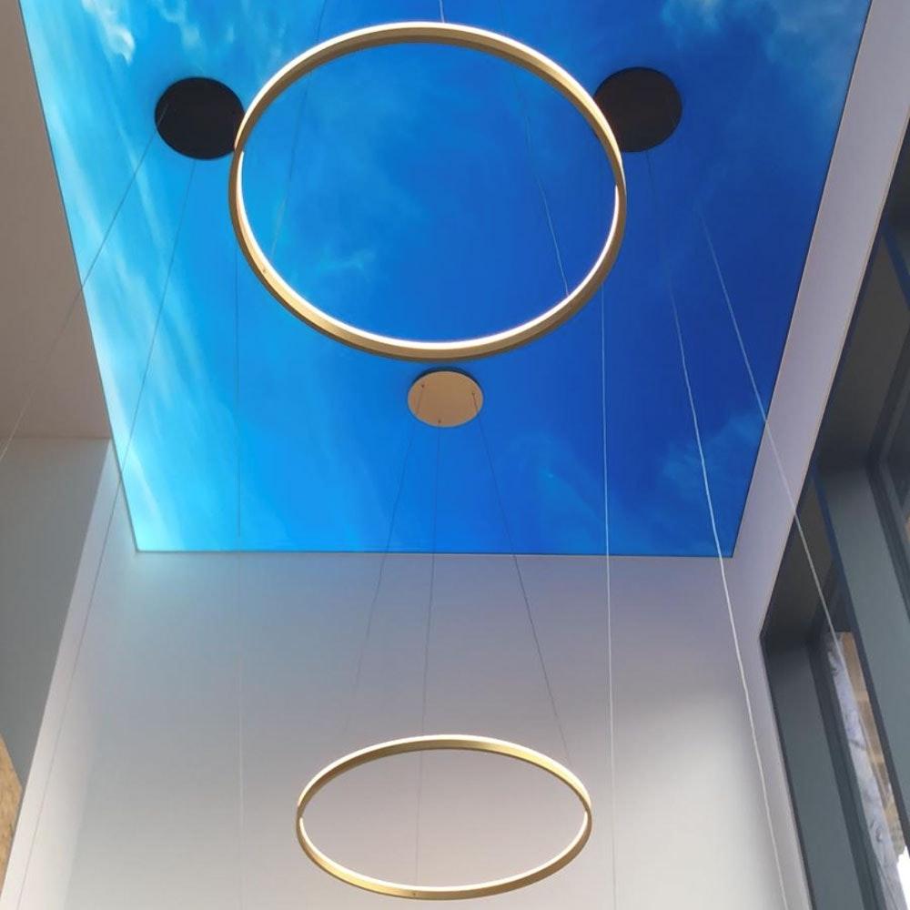 s.LUCE Ring 80 direkt oder indirekt LED Pendelleuchte 3