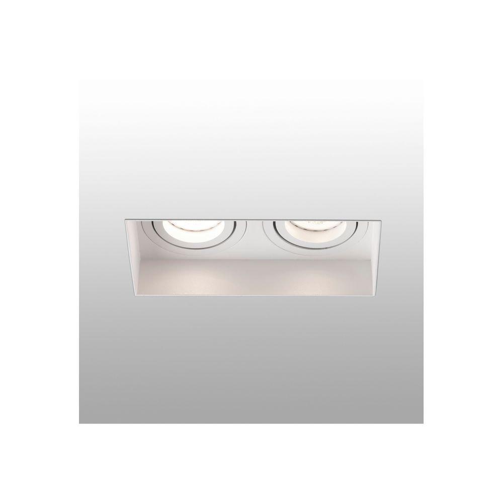 Einbauleuchte HYDE 2-flammig GU10 Weiß
