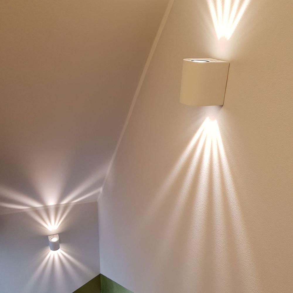 Baleno LED-Wandleuchte für Aussen und Innen Weiß thumbnail 3