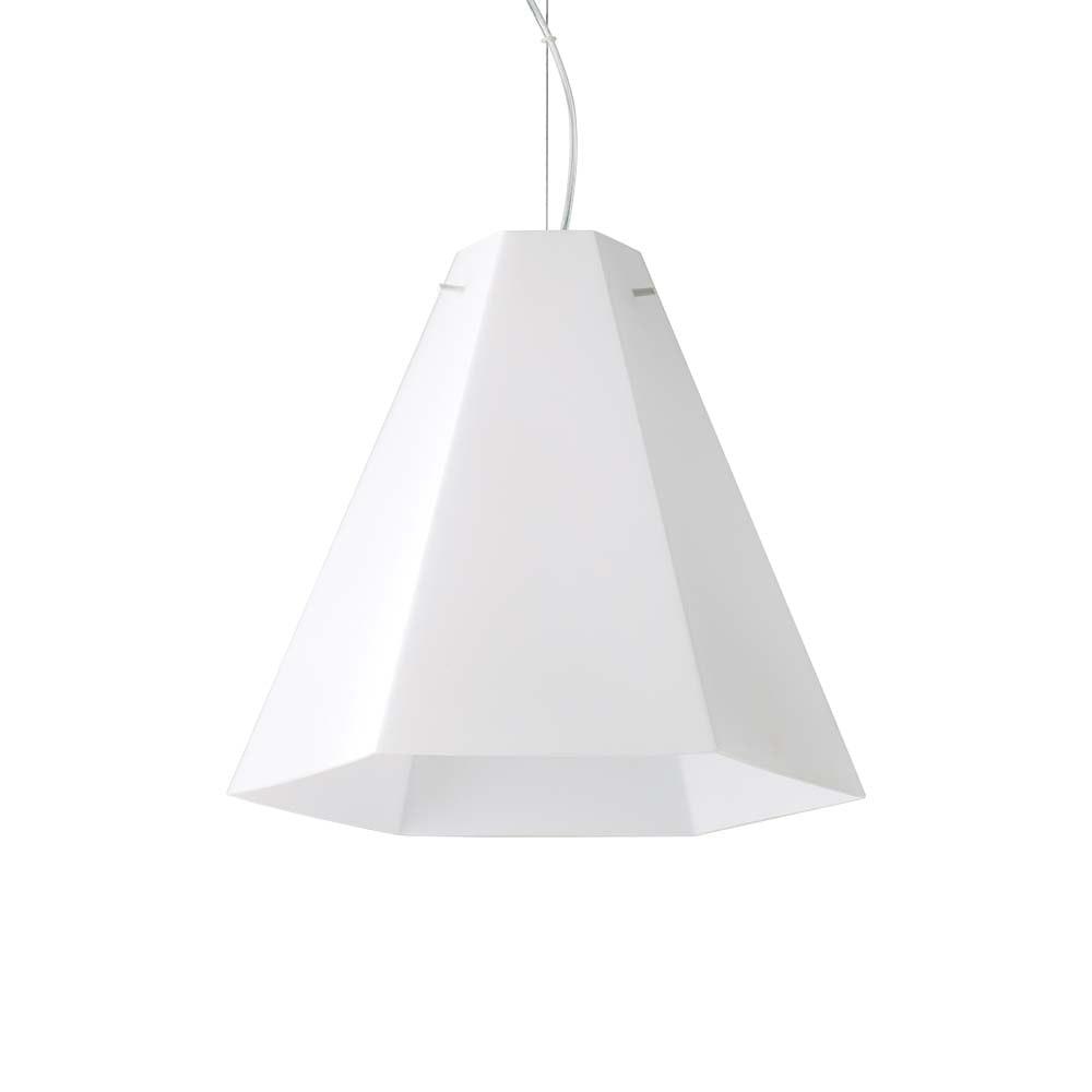 Ideal Lux Hängeleuchte Cairo Ø 40cm Weiß 2