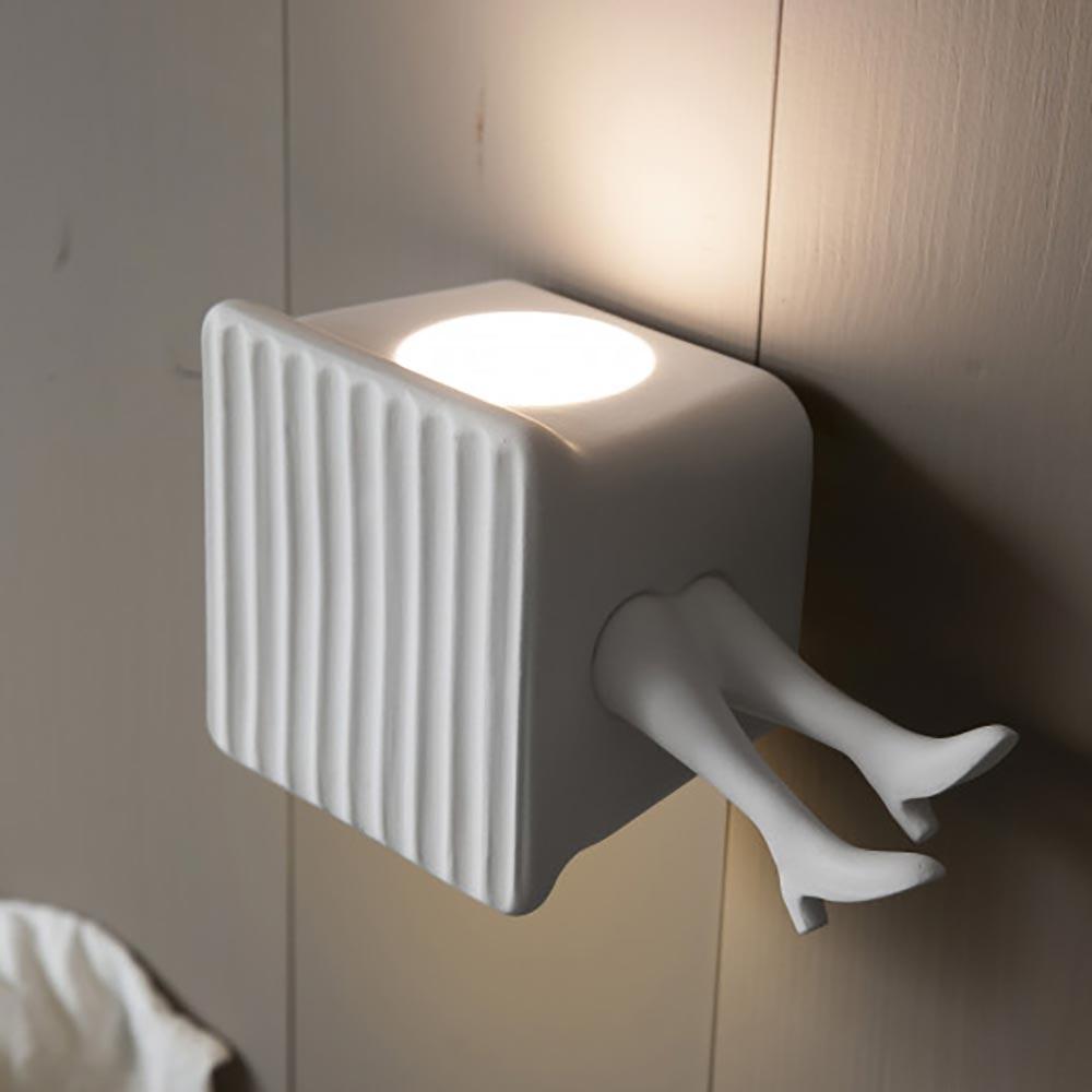 Karman Binarell LED Wandleuchte Weiß-Matt 2