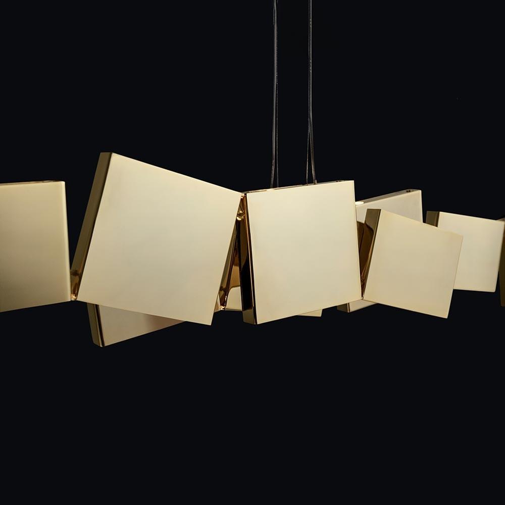 Terzani Gaia LED Design-Hängeleuchte 82cm 3