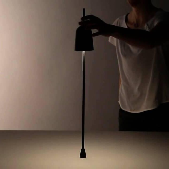 Luceplan LED Schreibtischlampe Ascent schwarz 2