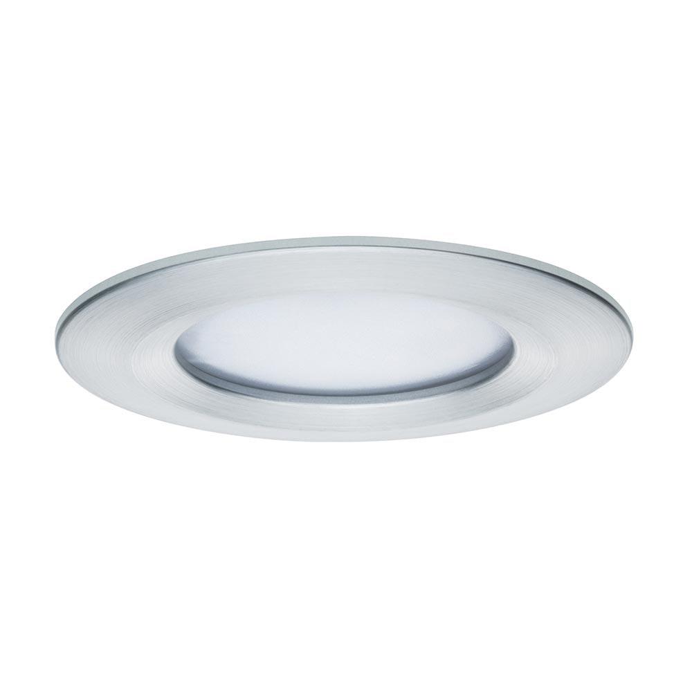Einbauleuchte LED Coin Slim IP44 rund 6,8W Alu dimmbar 2