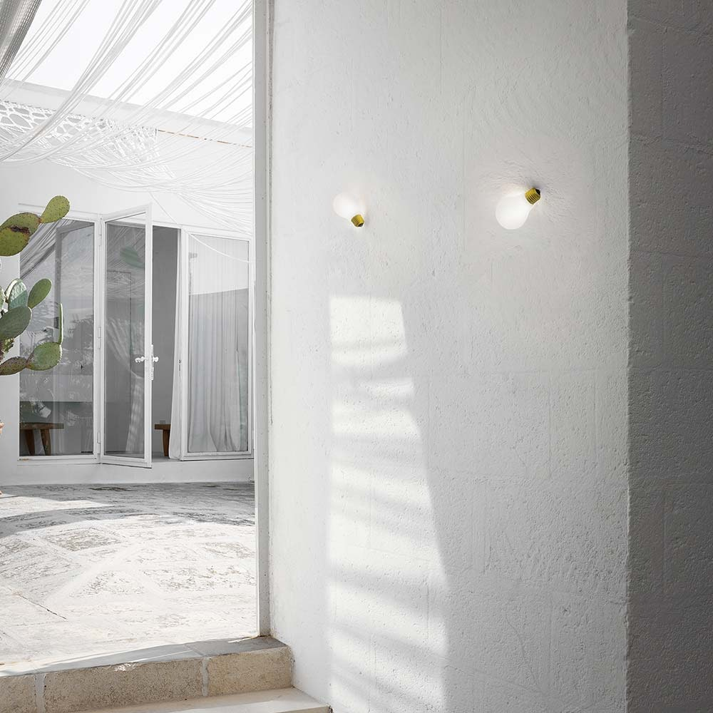 Slamp Einbau-Wandlampe Glühbirne Idea Applique Weiß thumbnail 5