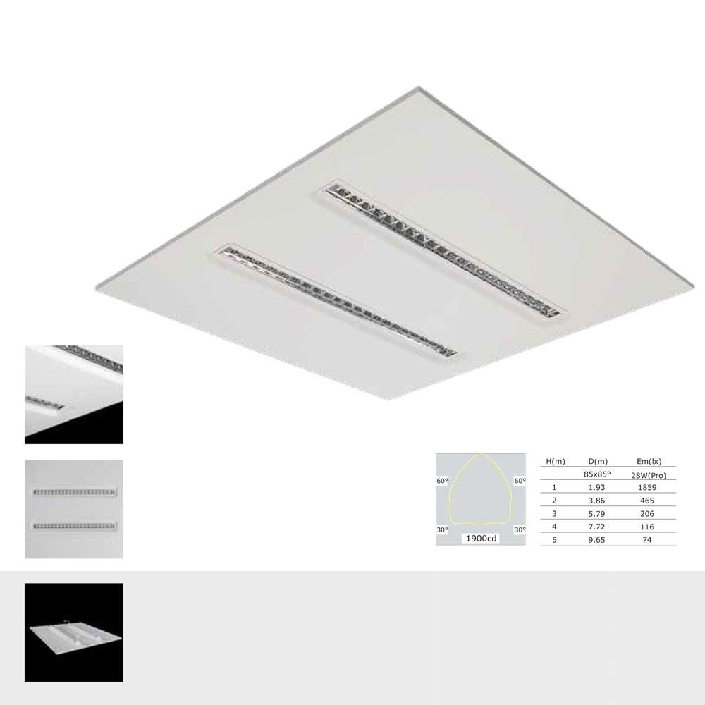 Licht-Trend LED-Panel Apoli UGR  1