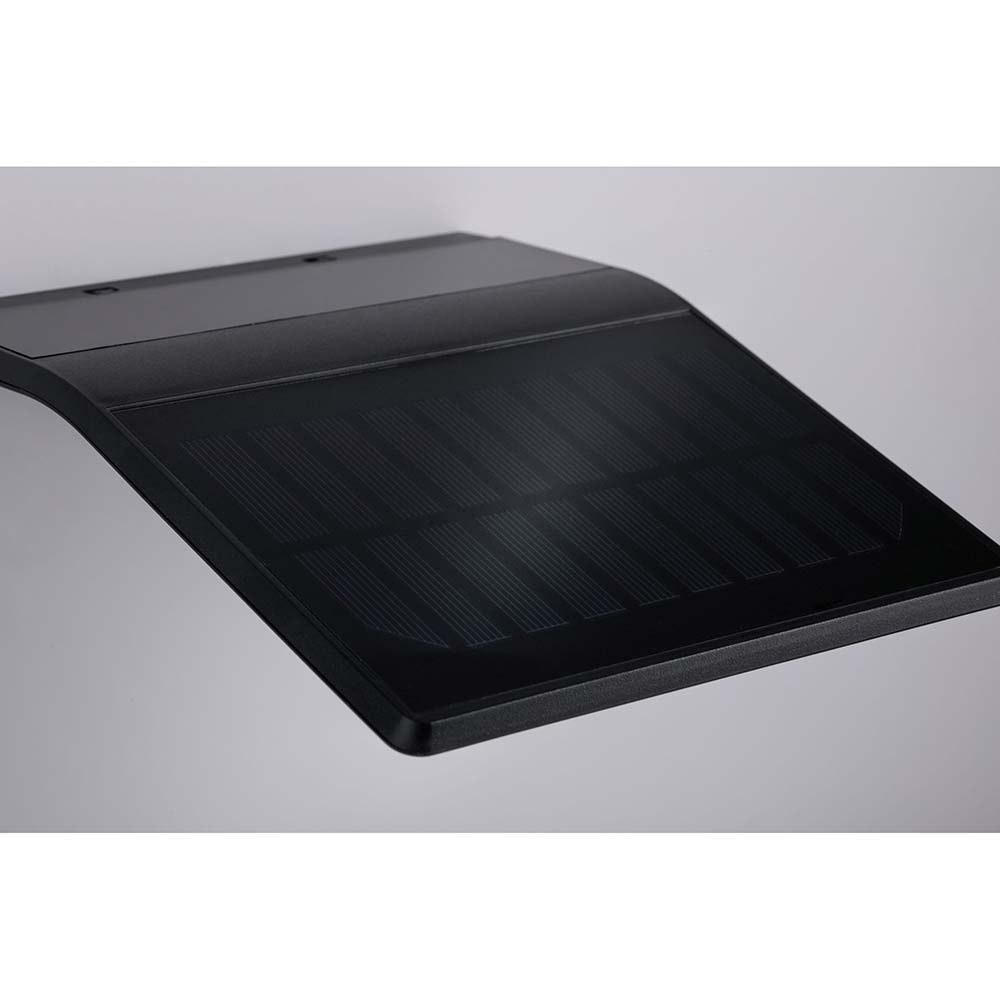 LED Wand-Solarleuchte Yoko mit Sensor IP44 3000K Anthrazit 5