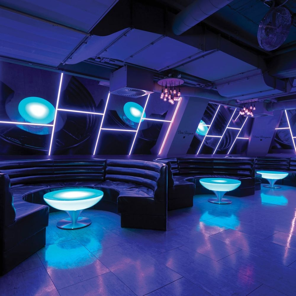 Moree Lounge Table LED Tisch Pro mit Akku 45cm 1