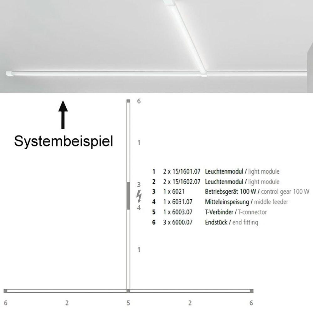 VIGO System Endstück Alu-matt 6