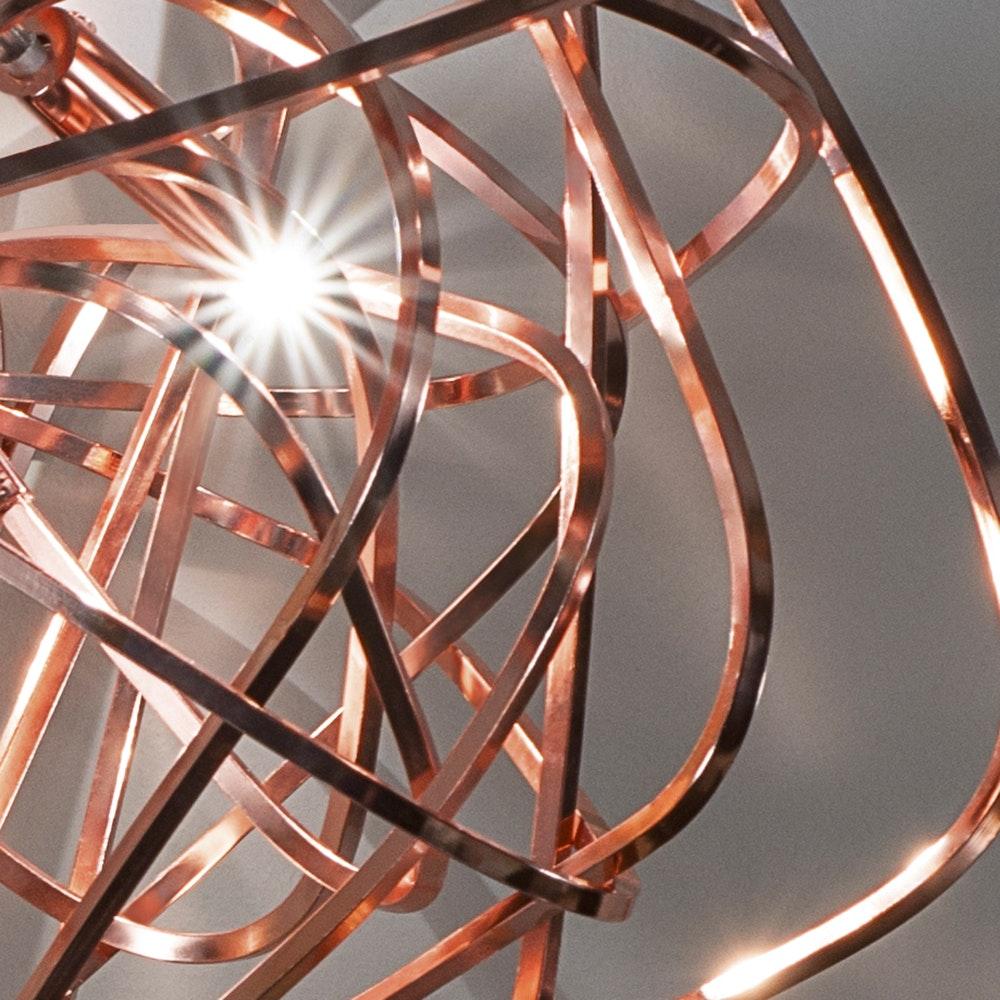 Terzani Doodle Design-Esstischlampe 135cm 2