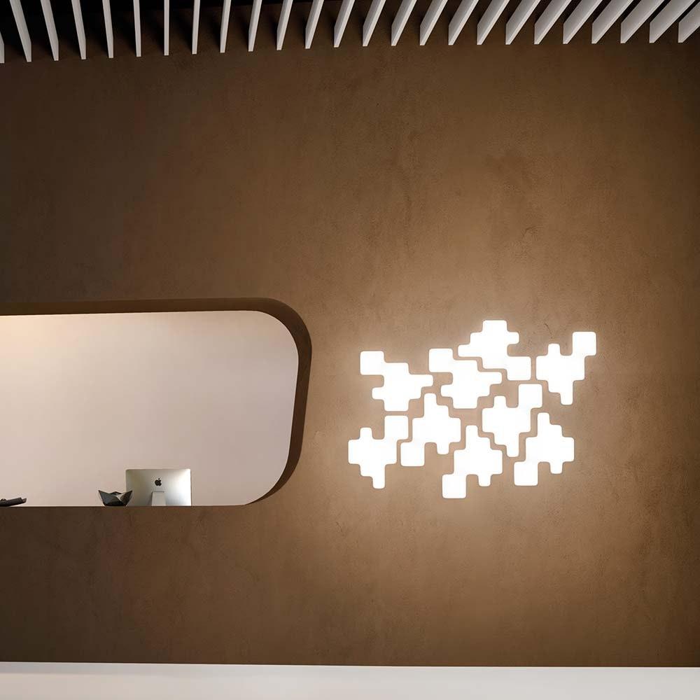 Kundalini Wand- & Deckenlampe Pixel Dimmbar 1