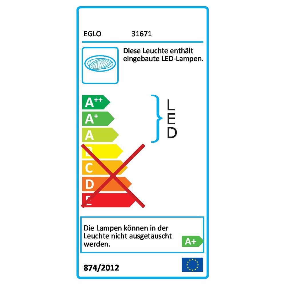 Fueva LED-Einbaupanel Ø 17 1200lm Warmweiß Alu-matt dimmbar 4