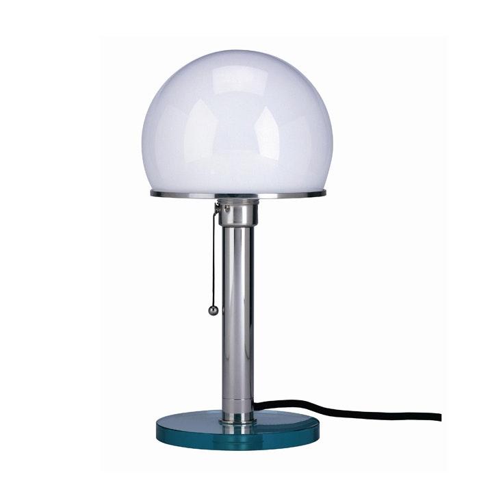 Tecnolumen Bauhaus-Tischlampe WG25GL Wilhelm Wagenfeld Metall 2