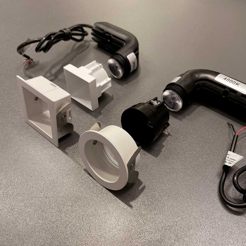 Helestra Mini LED Einbaustrahler PIC eckig 500lm thumbnail 6