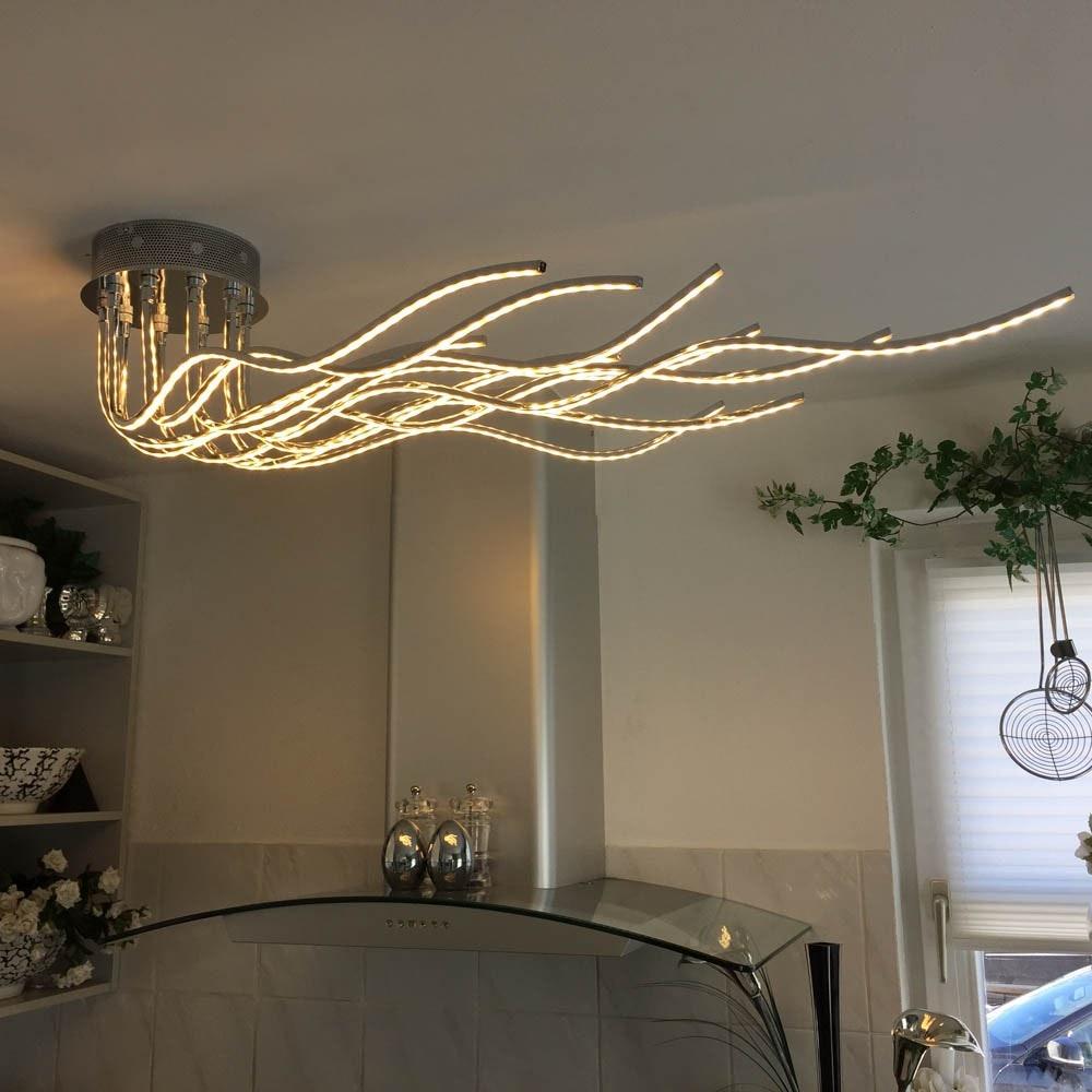 Sculli Design LED-Deckenleuchte mit Metallarmen 2