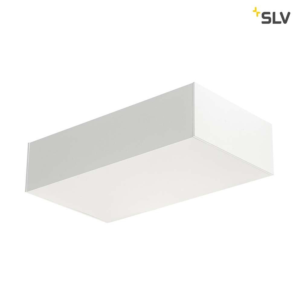 SLV Shell 30 LED Wandaufbauleuchte Weiß 5