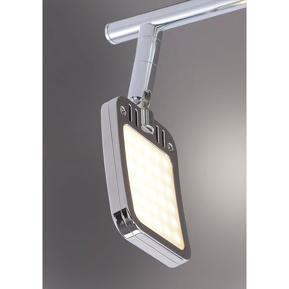 Wella LED Deckenleuchte schwenkbar 6x 4,20W 3000K Chrom 3