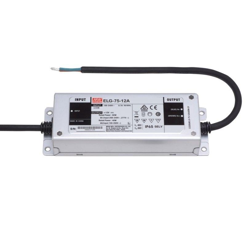 75W zertifiziertes Einbaunetzteil 24V IP65