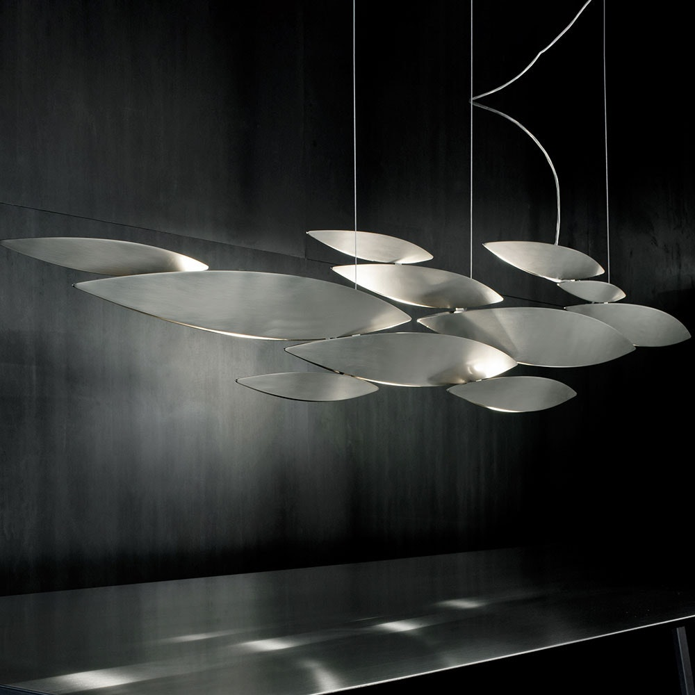 Terzani I Lucci Argentati LED Design-Hängelampe