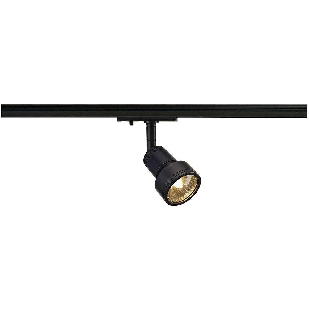 SLV Puri Leuchtenkopf schwarz GU10 max. 50W inkl. 1P. -Adapter 1