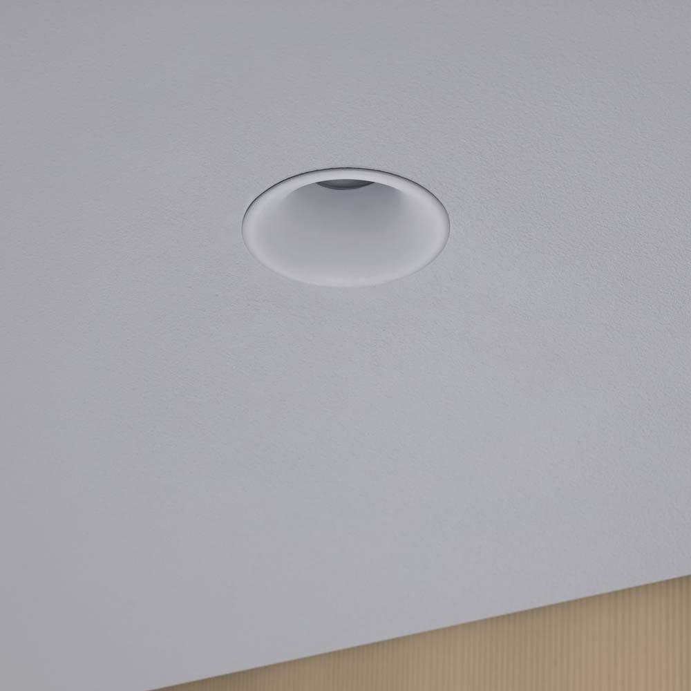 3er-Set LED Einbauleuchten Cymbal Coin starr Dimmbar IP44 2700K Weiß 2
