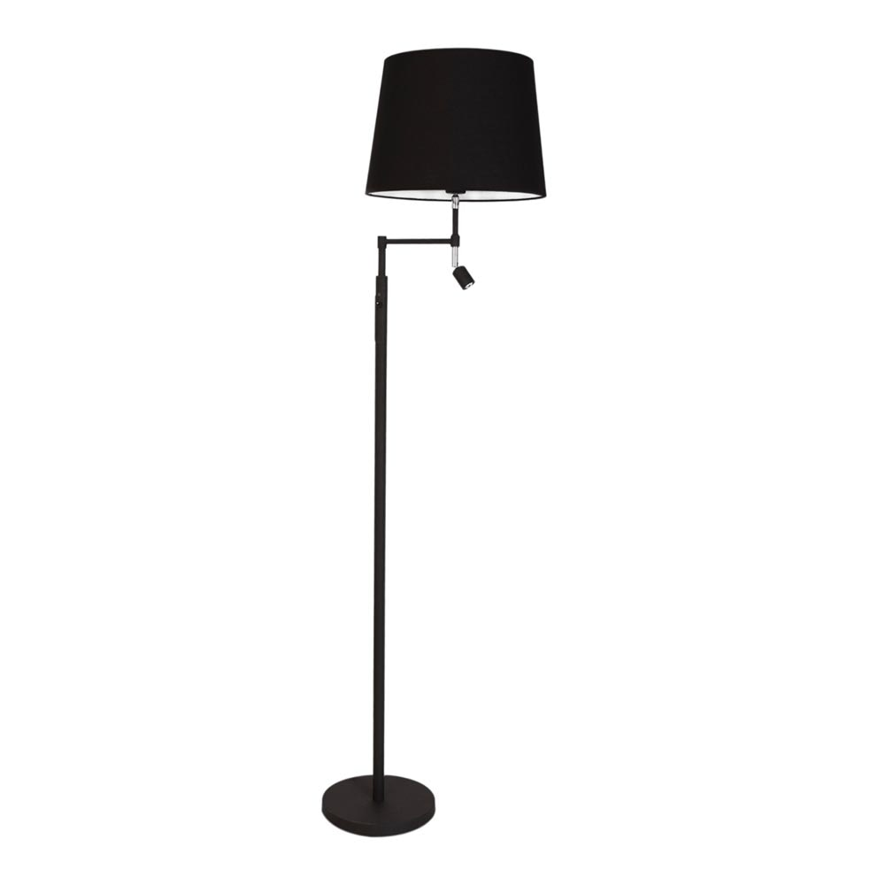 By Rydens Stehlampe Orlando 138cm mit LED-Lesearm 4